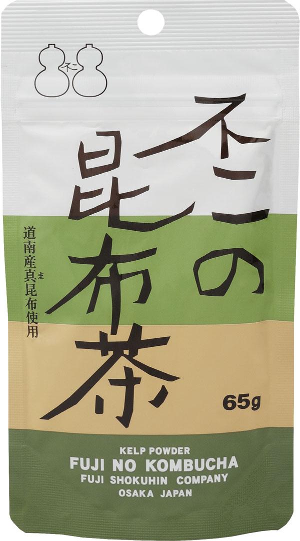 早割クーポン 上質 北海道産真昆布使用 昆布茶で簡単料理 不二の昆布茶65g袋 お料理の隠し味に