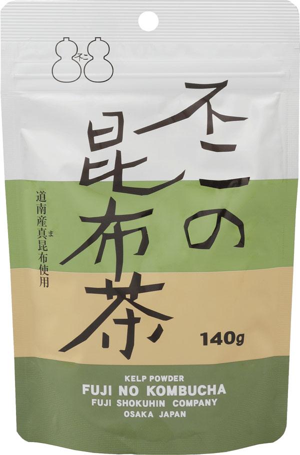 北海道産真昆布使用 昆布茶で簡単料理 期間限定で特別価格 不二の昆布茶140g袋 春の新作 お料理の隠し味に