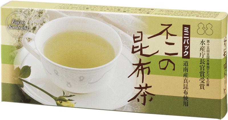 北海道産真昆布使用 使いきりタイプのアルミパック入り昆布茶 不二の昆布茶ミニパック 内祝い 安全
