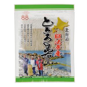 北海道椴法華 とどほっけ 本物◆ 産のとろろ昆布です 保障 25g 北海道椴法華産とろろ昆布