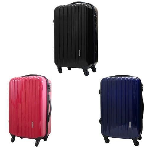 キャリーバッグ TSAロック付ポリカーボネートキャリーバッグ 7726-10 7726-60 正規品