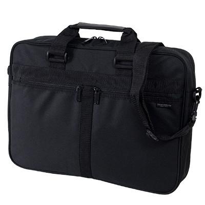 新品 送料無料 ビジネスバッグ メンズ ブリーフケース 軽量 ブランド ナイロン ショルダーバッグ ショルダーベルト付 2WAY 正規品 かばん カバン ブラック 黒 鞄 MBK-05 送料無料 安心保障