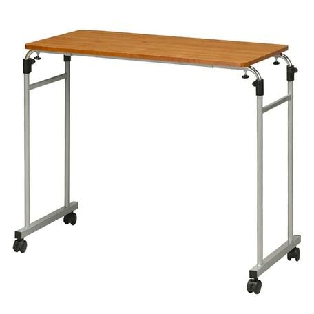 伸縮式ベッドテーブル 日々の暮らしを快適にベッドに座ったままでの食事 読書 PC作業に最適なテーブルです ベットテーブル 本物 介護テーブル お中元 テーブル サイドテーブル