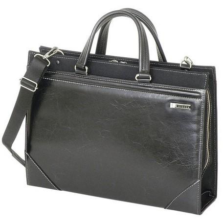 ビジネスバッグ メンズ ブランド 日本製 ショルダーバッグ 2way リクルートバッグ 就活 鞄 カバン 黒 ブラック 茶 ブラウン 正規品 送料無料