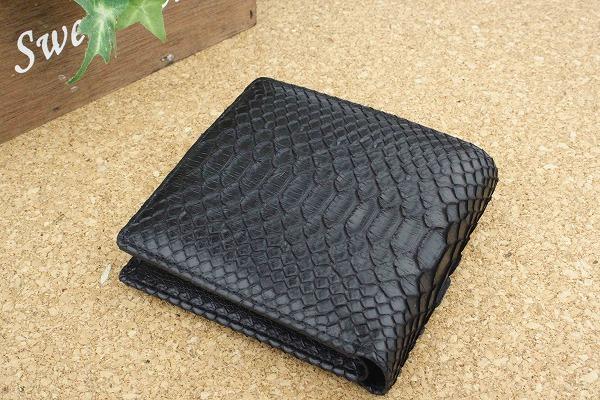 promo code d5a52 77057 非常に高い品質 蛇革 財布 パイソン 財布 メンズ レディース 二 ...