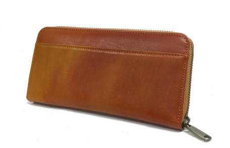 財布ブランド 長財布 メンズ 馬革 さいふ サイフ REAL MIND 正規品 日本製 高級長財布 キャメル レッド チョコ ブラウン