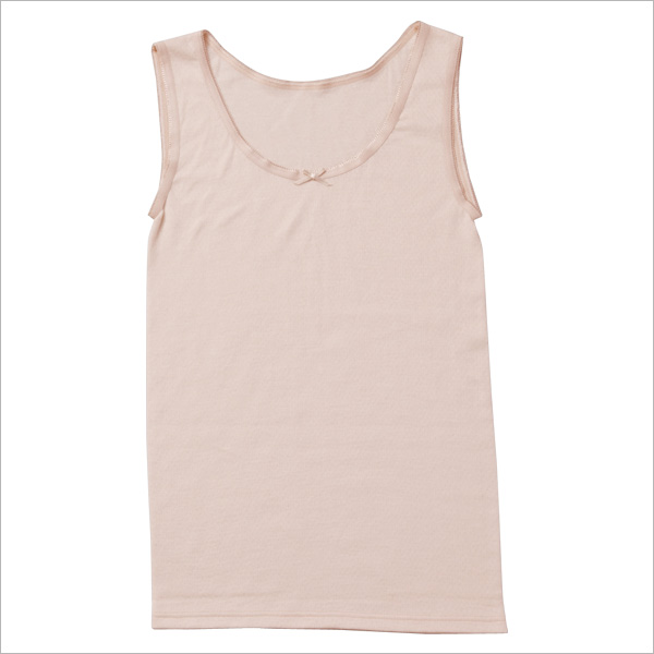 c297a188bccb3 100% cotton double-sensitive skin underwear gauze cotton women s Japan-made  gauze is from and even inner tank top pink
