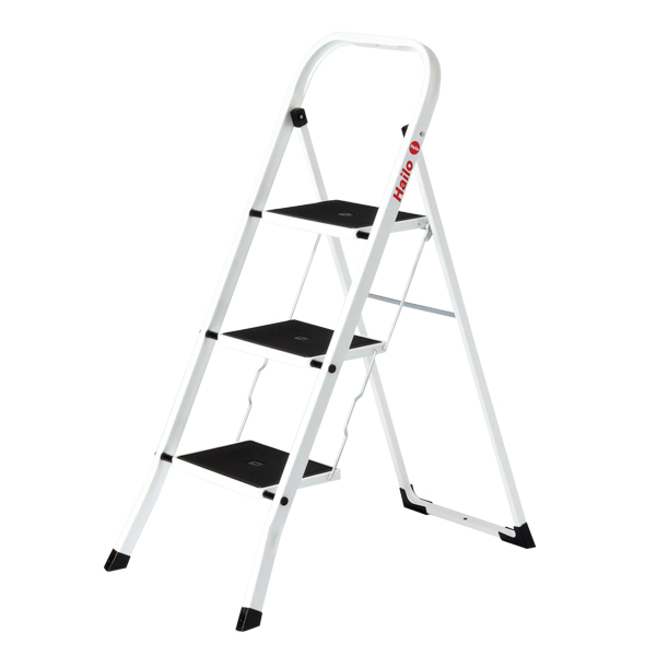 Admirable Stepladder Safely Firm Compact Storing K20 Three Steps 60002 Ibusinesslaw Wood Chair Design Ideas Ibusinesslaworg