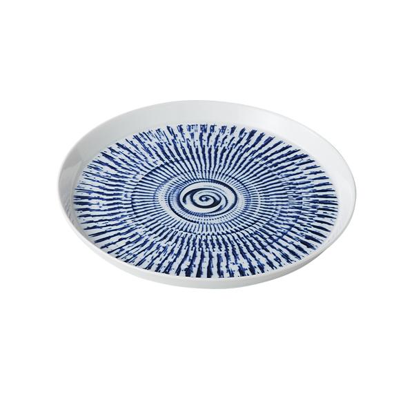 食器 器 皿 プレート 16cm セット 3客組 おしゃれ 可愛い 贈り物 プレゼント 波佐見焼 磁器 日本製 色染カンナ 16cmプレート(青) 3客組 14776