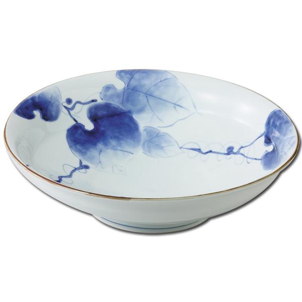 有田瓷器覆盖盆栽与时尚时尚常春藤罗马折磨大碗 55988 日本仪器盘大盘