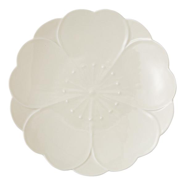かわいい おしゃれ 食器 波佐見焼 皿さくらさくら おもてなし皿 黄釉 produced by 田中ゆかり