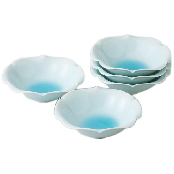 敬老の日 ギフト 古稀 敬老の日 ギフト 古稀 小鉢 セット 鍋 鍋物 器 食器青磁小鉢揃 s10-11441