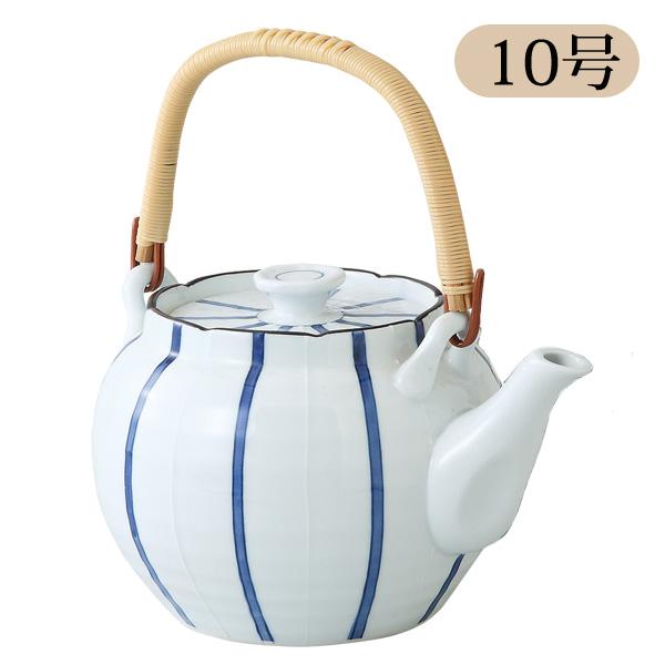 急須 大 土瓶 ティーポット 大きい 急須 かわいい 急須 おしゃれ 陶器 波佐見焼 日本製 1800 一珍十草10号土瓶