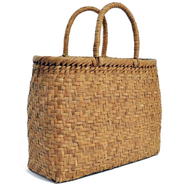 バッグ かごバック 浴衣 山葡萄かごバッグ 手作り 職人 可愛い シンプル 丈夫 【送料無料】wild grapevine bag 91418