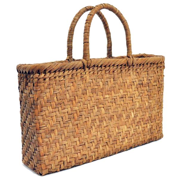 バッグ かごバック 浴衣 山葡萄かごバッグ 手作り 職人 可愛い シンプル 丈夫 【送料無料】wild grapevine bag 91419