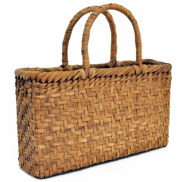 バッグ かごバック 浴衣 山葡萄かごバッグ 手作り 職人 可愛い シンプル 丈夫 【送料無料】wild grapevine bag 91447