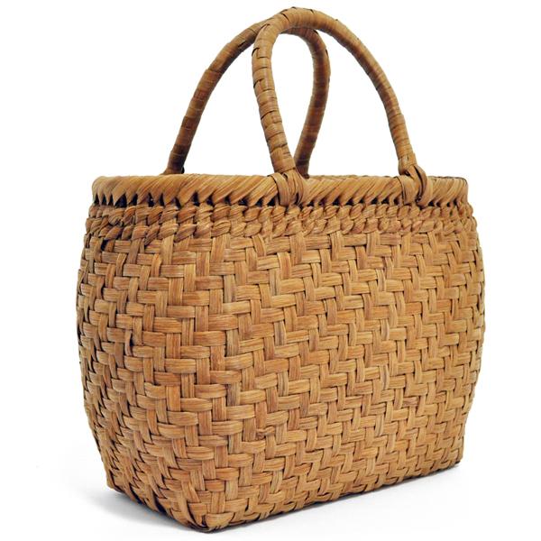 バッグ かごバック 浴衣 山葡萄かごバッグ 手作り 職人 可愛い シンプル 丈夫 【送料無料】wild grapevine bag 91448