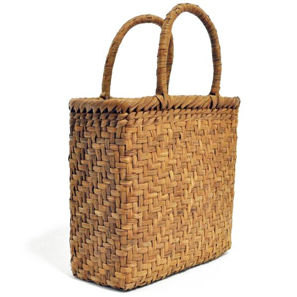 バッグ かごバック 浴衣 山葡萄かごバッグ 手作り 職人 可愛い シンプル 丈夫 【送料無料】wild grapevine bag 91449