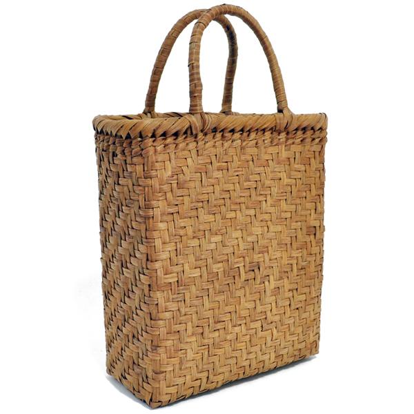バッグ かごバック 浴衣 山葡萄かごバッグ 手作り 職人 可愛い シンプル 丈夫 【送料無料】wild grapevine bag 91450