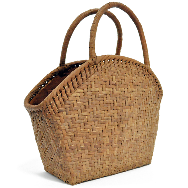 バッグ かごバック 浴衣 山葡萄かごバッグ 手作り 職人 可愛い シンプル 丈夫 【送料無料】wild grapevine bag 91507