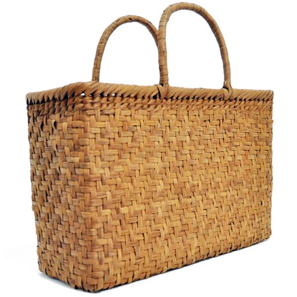 バッグ かごバック 浴衣 山葡萄かごバッグ 手作り 職人 可愛い シンプル 丈夫 【送料無料】wild grapevine bag 91510