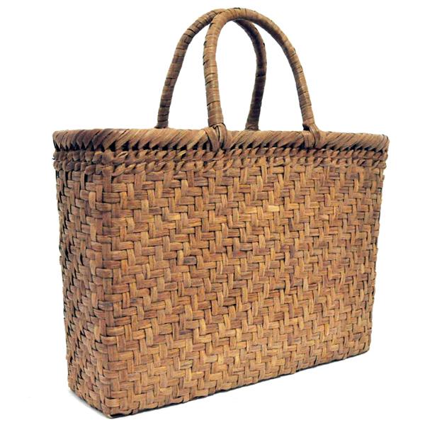 バッグ かごバック 浴衣 山葡萄かごバッグ 手作り 職人 可愛い シンプル 丈夫 【送料無料】wild grapevine bag 91512