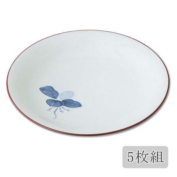 食器 皿 取皿 小皿 セット 5枚 シンプル 磁器 日本製 有田焼まんりょう 6号皿 5枚組 99579