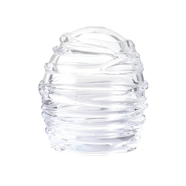 吹きガラス インテリア ドーム キャンドルカバー キャンドル ろうそく ロウソク ライト 日本製 LEDキャンドルドーム【送料無料】Dome-glass H100 巻きモール
