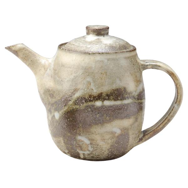 陶器 和風 ポット 後手 茶器 高級 和 モダン かわいい おしゃれ シンプル 信楽焼 日本製信楽灰遊ポット G5-2702