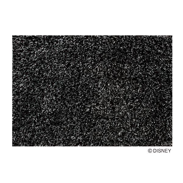 ラグ マット カーペット ミッキー ディズニー 長方形 ブラック おしゃれ かわいい 日本製【代引き不可】【メーカー直送品】【送料無料】ミッキー スピーチレースラグ DRM-1019 ブラック 100×140