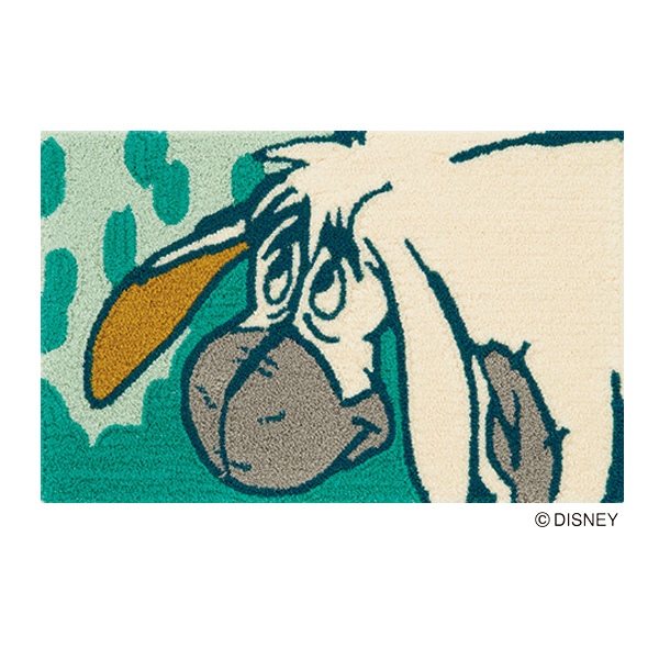 Dmp 4046 Mat Rug Carpet Winnie The Pooh S Eeyore Disney Chief Square Green Fashion Cute Cutting Non Slip Made In An Muse Matt