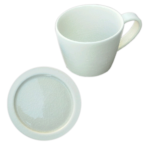 Deep breath mug cup + mini plate set DB-4 DB-5 White made in present present earthenware Shigaraki ware Japan which tableware mug cup plate plate white Shin ...  sc 1 st  Rakuten & kodawarizakkahompo | Rakuten Global Market: Deep breath mug cup + ...