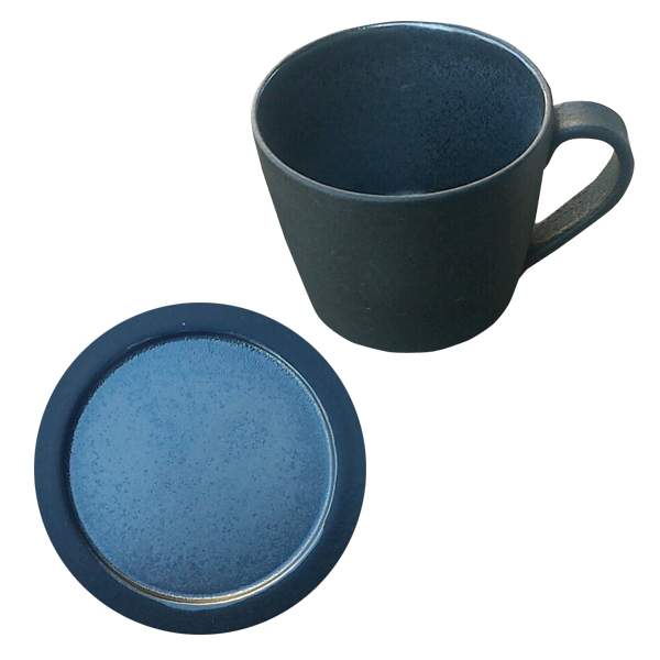 Deep breath mug cup + mini plate set DB-4 DB-6 Black made in present present earthenware Shigaraki ware Japan which tableware mug cup plate plate black Shin ...  sc 1 st  Rakuten & kodawarizakkahompo | Rakuten Global Market: Deep breath mug cup + ...