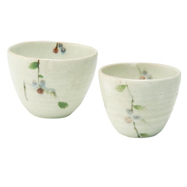 食器 カップ セット いれこ おしゃれ 可愛い 贈り物 プレゼント 陶器 信楽焼 日本製ベリー いれこカップ GB5-20-03