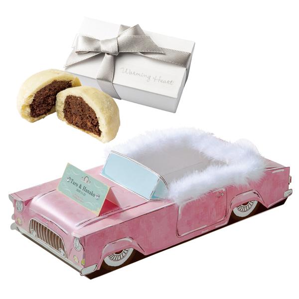 プチギフト お菓子 クッキー 結婚式 クリスマス 車 日本製 【送料無料】ヴィンテージカーGo!Go! クッキーセット OGT880
