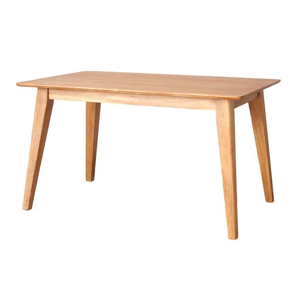 家具 インテリア 机 テーブル 食卓 4人用 ダイニング チーク 無垢材 木製 高級 おしゃれ ナチュラル 伸長可 【代引き不可】【メーカー直送品】【送料無料】チーク無垢材 ナチュラルダイニングテーブル 125cm幅(オプション伸長可)T725XP