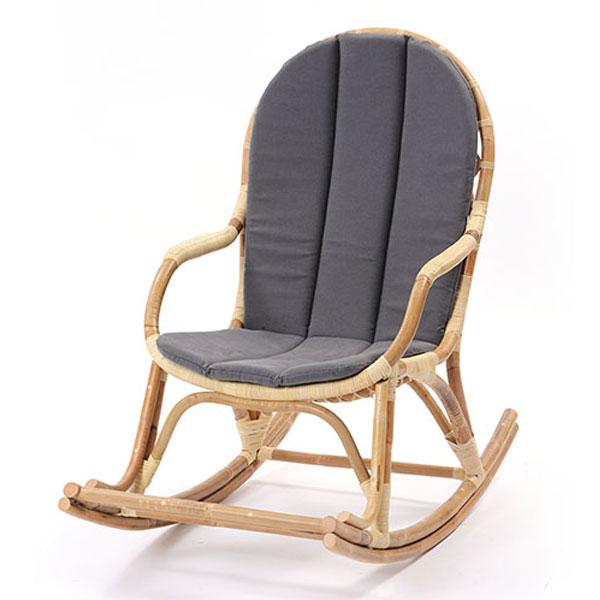 家具 インテリア ロッキング 椅子 チェア ラタン 籐 高級 おしゃれ ナチュラル ゆったり リラックス 【代引き不可】【メーカー直送品】【送料無料】ラタン ロッキングチェアチェア C291NWM