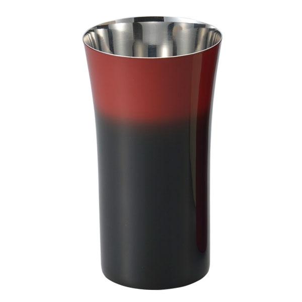 コップ カップ 酒器 ビール 炭酸飲料 食器 ギフト 燕 研磨技術 山中塗 日本製 【送料無料】シングルカップ S(1客)黒彩 SCS-S601
