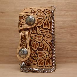 KC,s ケイシイズ 財布 ターコイズ クラフト ウォレット ツー 牛皮革 KNW241 春財布 長財布 革財布 メンズ KC,s leather craft ケーシーズ 日本製 本革 ブランド [メーカー取り寄せ商品][優れものA]