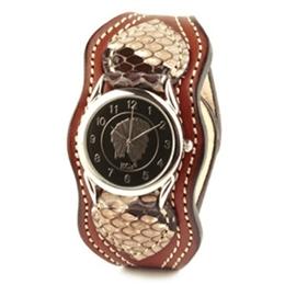 KC,s ケイシイズ 時計 マーシャル ウォッチブレス パイソン ニシキヘビ革 牛皮革 KIR510 腕時計 メンズ レディース KC,s leather craft ケーシーズ 本革 ブランド [メーカー取り寄せ商品][優れものA]