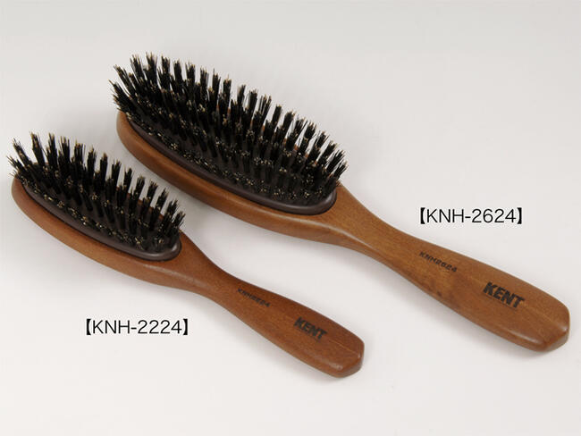 KENT hairbrush Kent pig hair hairbrush [very much] [normal (M)] [for the  woman] [Lady's] [Hair brush][KNH-2624] [Respect for the Aged Day] [gift]