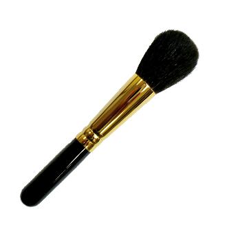 熊野筆 化粧筆 メイクブラシ チークブラシ 灰リス GC-2 丸型 熊野化粧筆 熊の筆 熊野ブラシ 広島県 熊野町 KUMANO brush [優れものA]