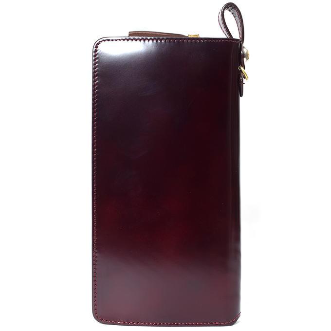 KC,sケイシイズ財布ウォレットラウンドジップコードバン馬革KRW008長財布革財布メンズレディース(KC,s)(leathercraft)ケーシーズ日本製本革ブランド薄い薄型[優れものA]
