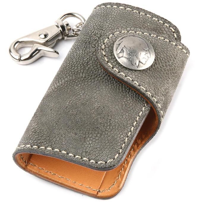 KC,s ケイシイズ キーケース ハンギング エレファント 象革 ゾウ革 4連 KPK569 KC,s leather craft ケーシーズ 本革 ブランド [メーカー取り寄せ商品][優れものA]