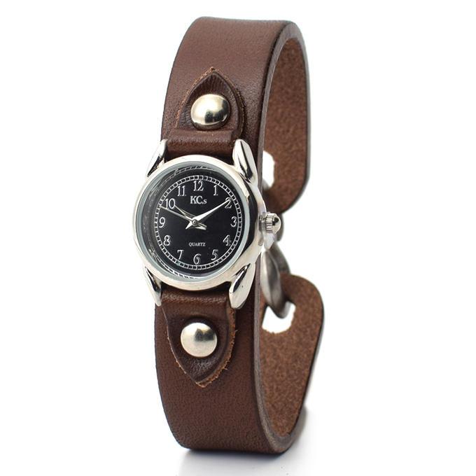 KC,s ケイシイズ 時計 エスフック ウォッチブレス レディース 牛皮革 KSR013 腕時計 KC,s leather craft ケーシーズ 本革 ブランド [メーカー取り寄せ/在庫未確定商品][優れものA]
