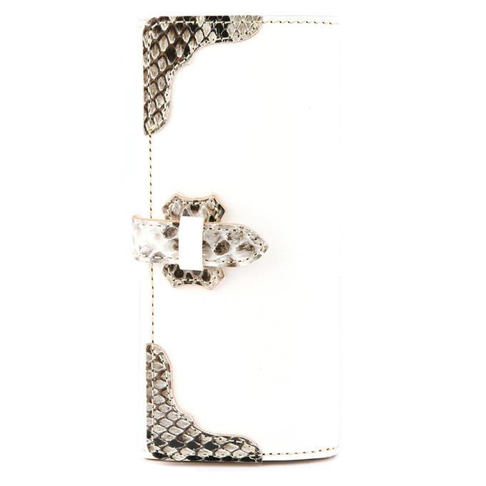 KC,s ケイシイズ 財布 ヒューストン フラップ ウォレット パイソン 牛皮革 ニシキヘビ革 KIW516 長財布 革財布 メンズ レディース KC,s leather craft ケーシーズ 日本製 本革 ブランド [メーカー取り寄せ/在庫未確定商品][優れものA]