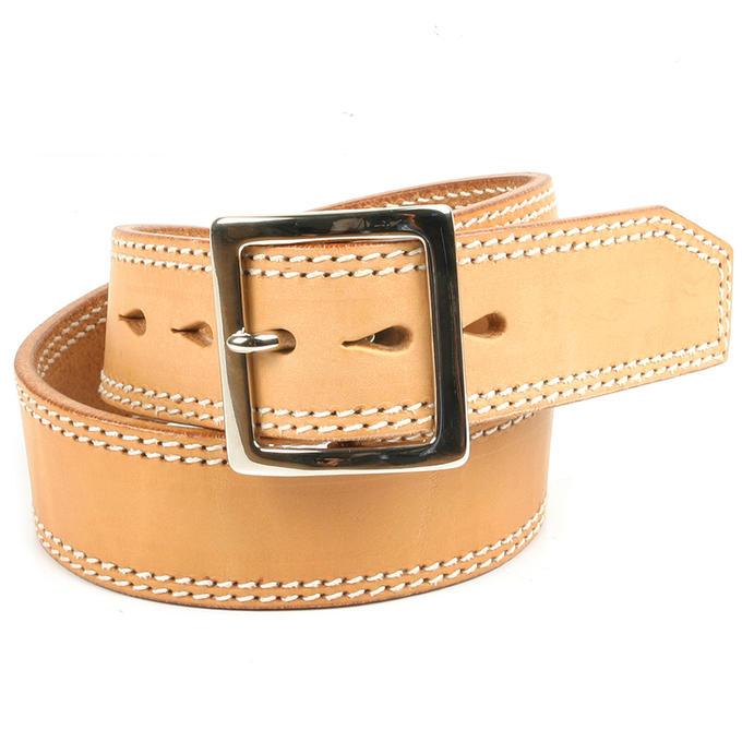 KC,s ケイシイズ ベルト 1 3/4インチ ダブルステッチ 牛皮革 ベルト メンズ KC,s leather craft ケーシーズ 本革 ブランド [メーカー取り寄せ/在庫未確定商品][優れものA]