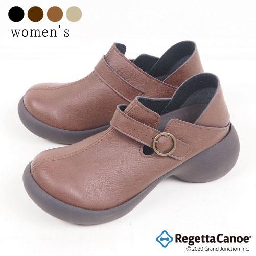 《16%OFFクーポン SALE》 リゲッタ カヌー レディース シューズ スリッポン カジュアルシューズ 靴 ベルト 歩きやすい 痛くない 走れる 疲れにくい 大人可愛い靴 大人カジュアル 厚底 エッグヒール かわいい 可愛い おしゃれ お洒落 日本製 CJES6106