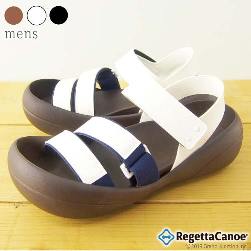 《5%OFFクーポン SALE》 リゲッタ カヌー サンダル メンズ かかと おしゃれ ビッグフット 歩きやすい 日本製 リゲッタカヌー公式 CJBF5171