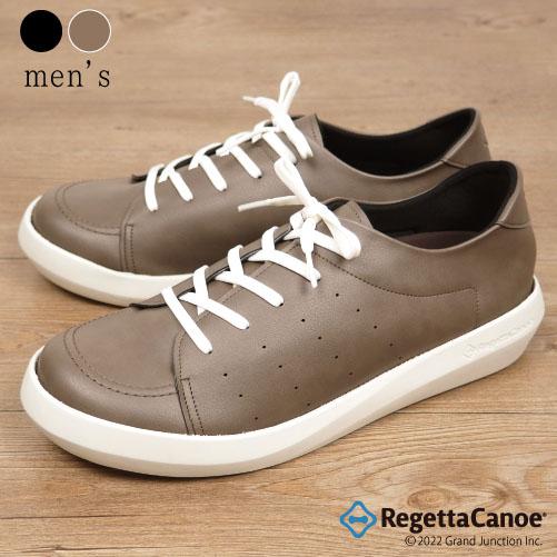 《10%OFFクーポン SALE》 リゲッタ カヌー スニーカー 靴 メンズ 白 黒 シューズ スリッポン 通学 歩きやすい靴 疲れない 軽い 軽量 カジュアル ゴム紐 レースアップ 編み上げ sneakers 日本製 CJEW7500